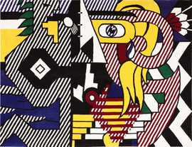 Pop Art Roy Lichtenstein Rug Art 47406 Large Image