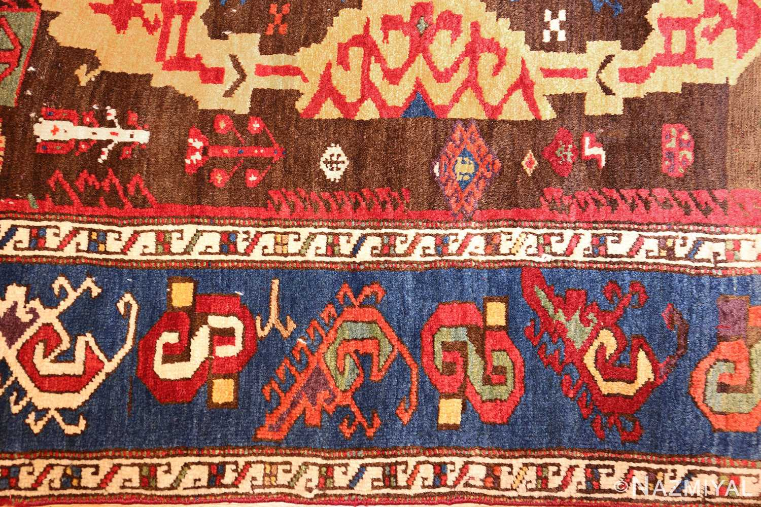 18th century turkish rug from james ballard 47373 border Nazmiyal