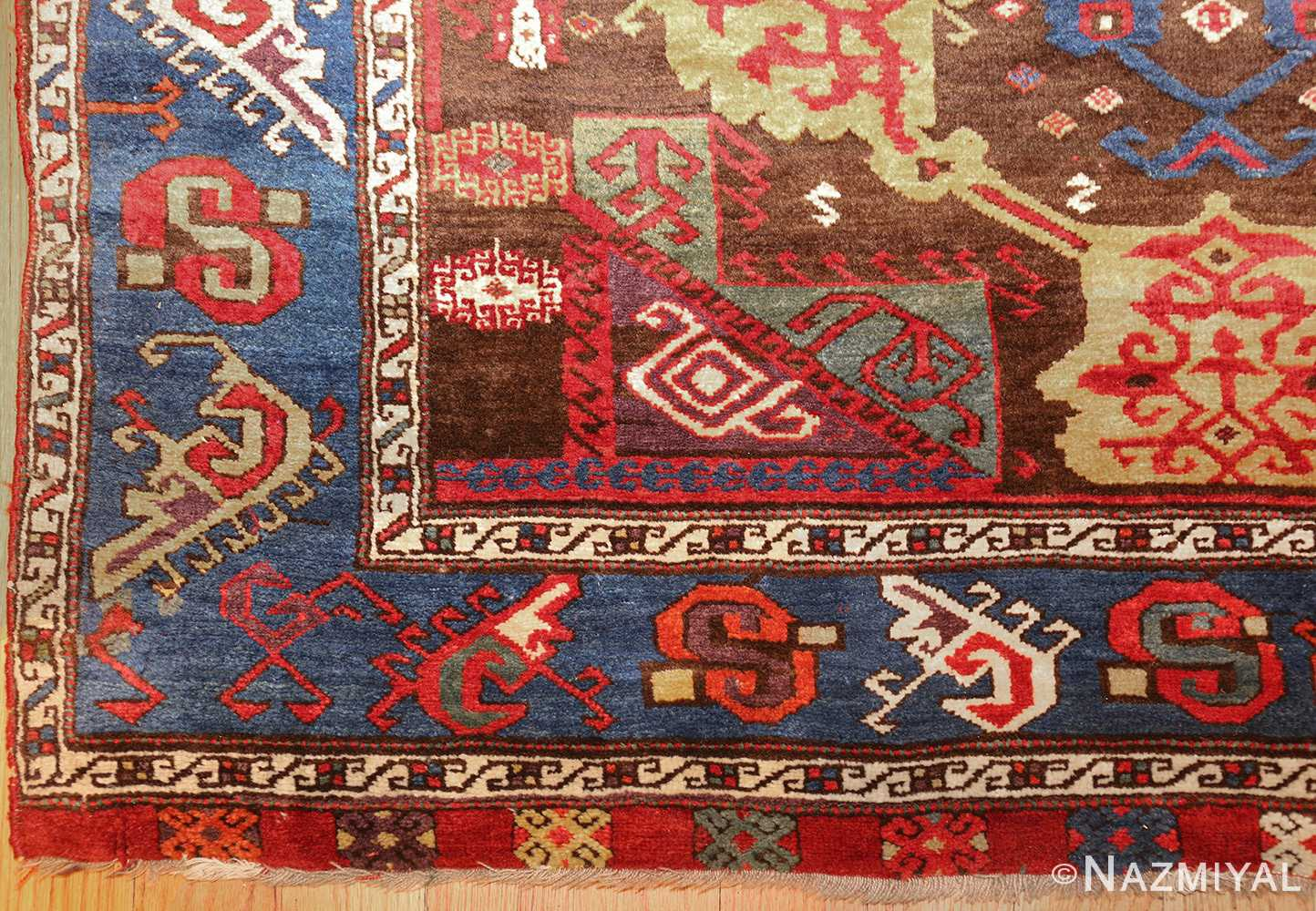 18th century turkish rug from james ballard 47373 corner Nazmiyal