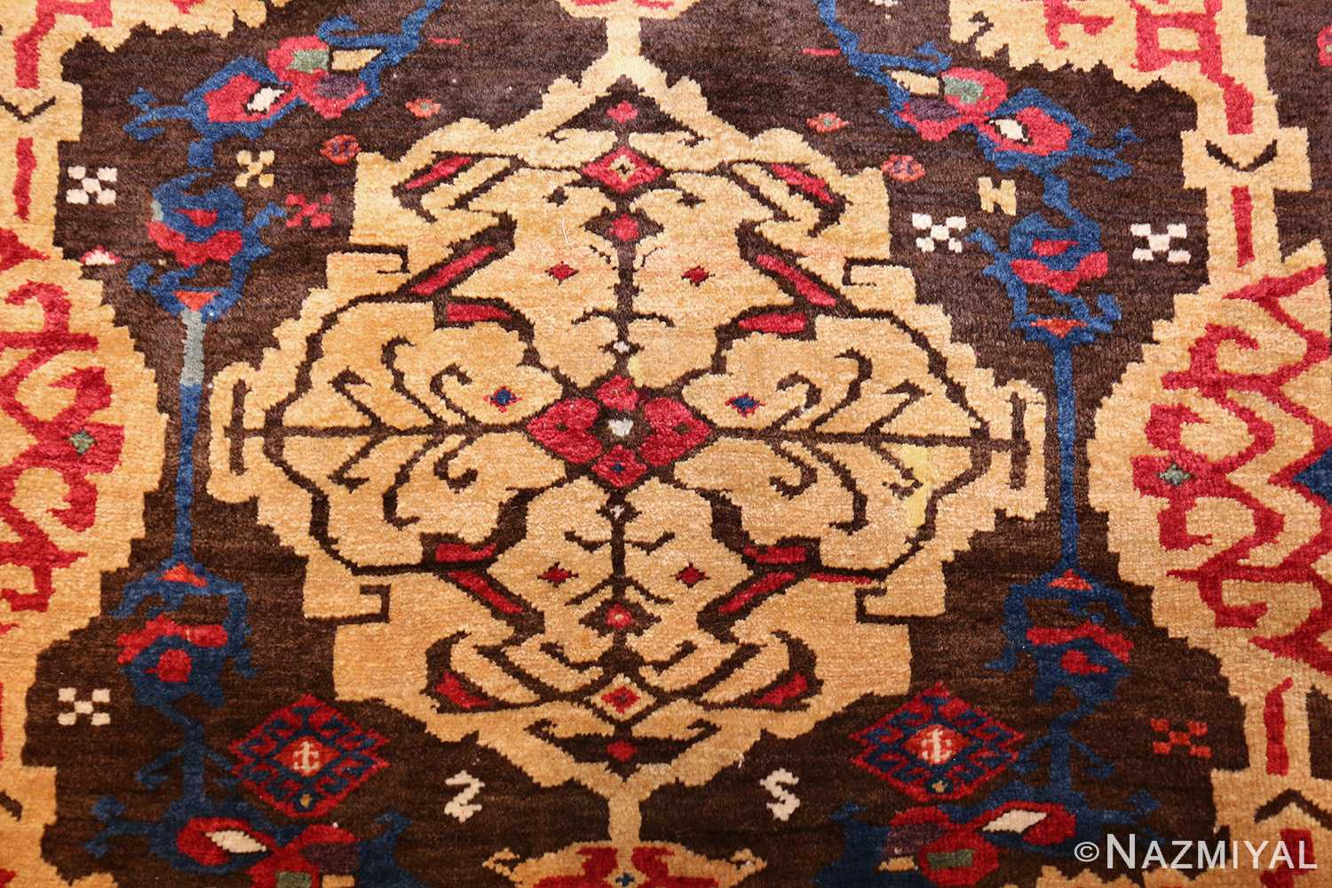 18th century turkish rug from james ballard 47373 medallion Nazmiyal