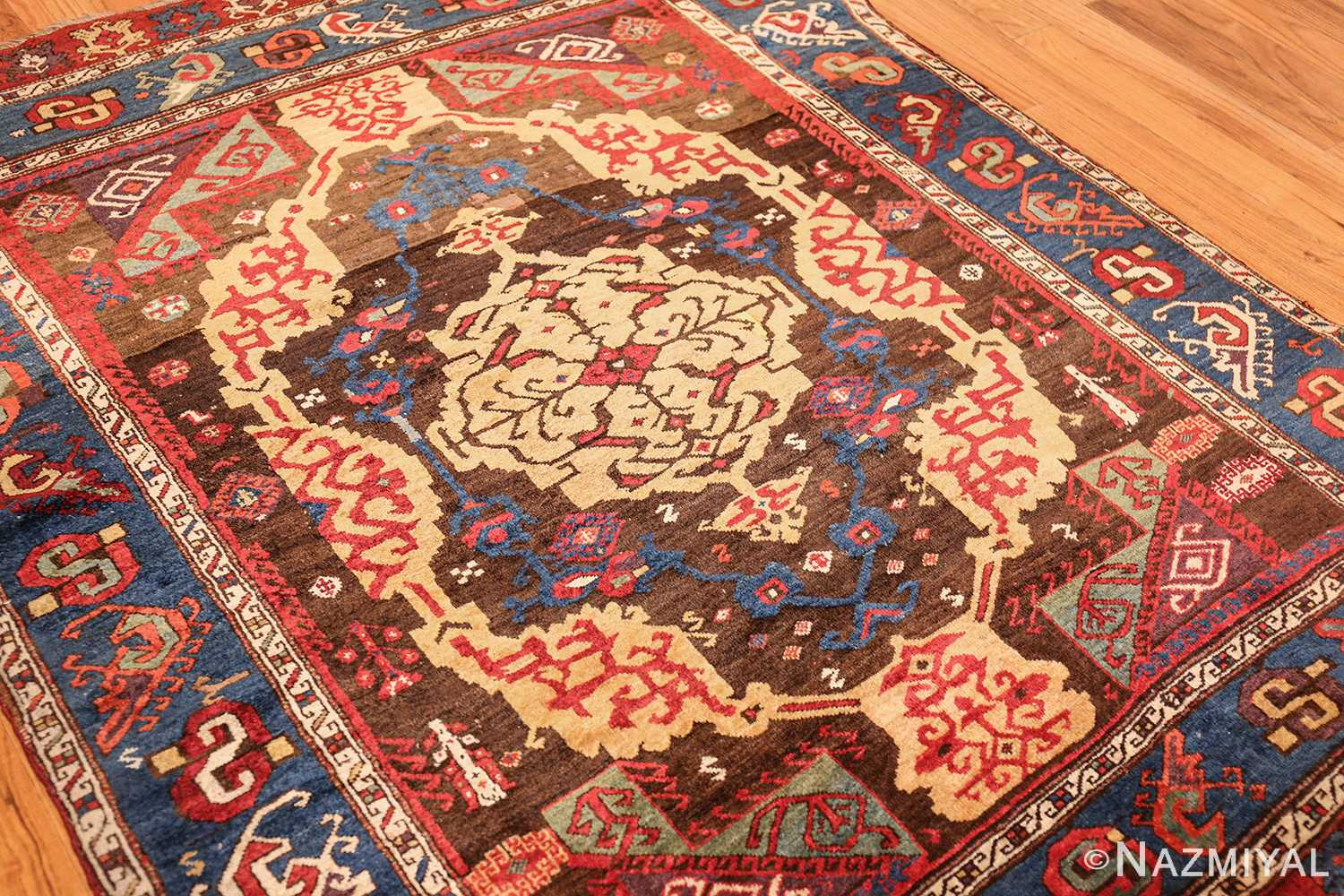 18th century turkish rug from james ballard 47373 side Nazmiyal