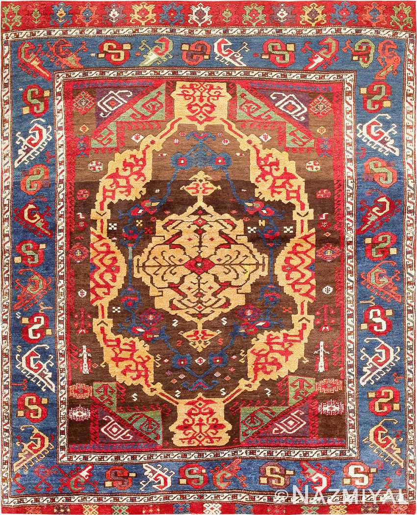 Antique 18th Century Anatolian Rug From The James Ballard Collection #47373