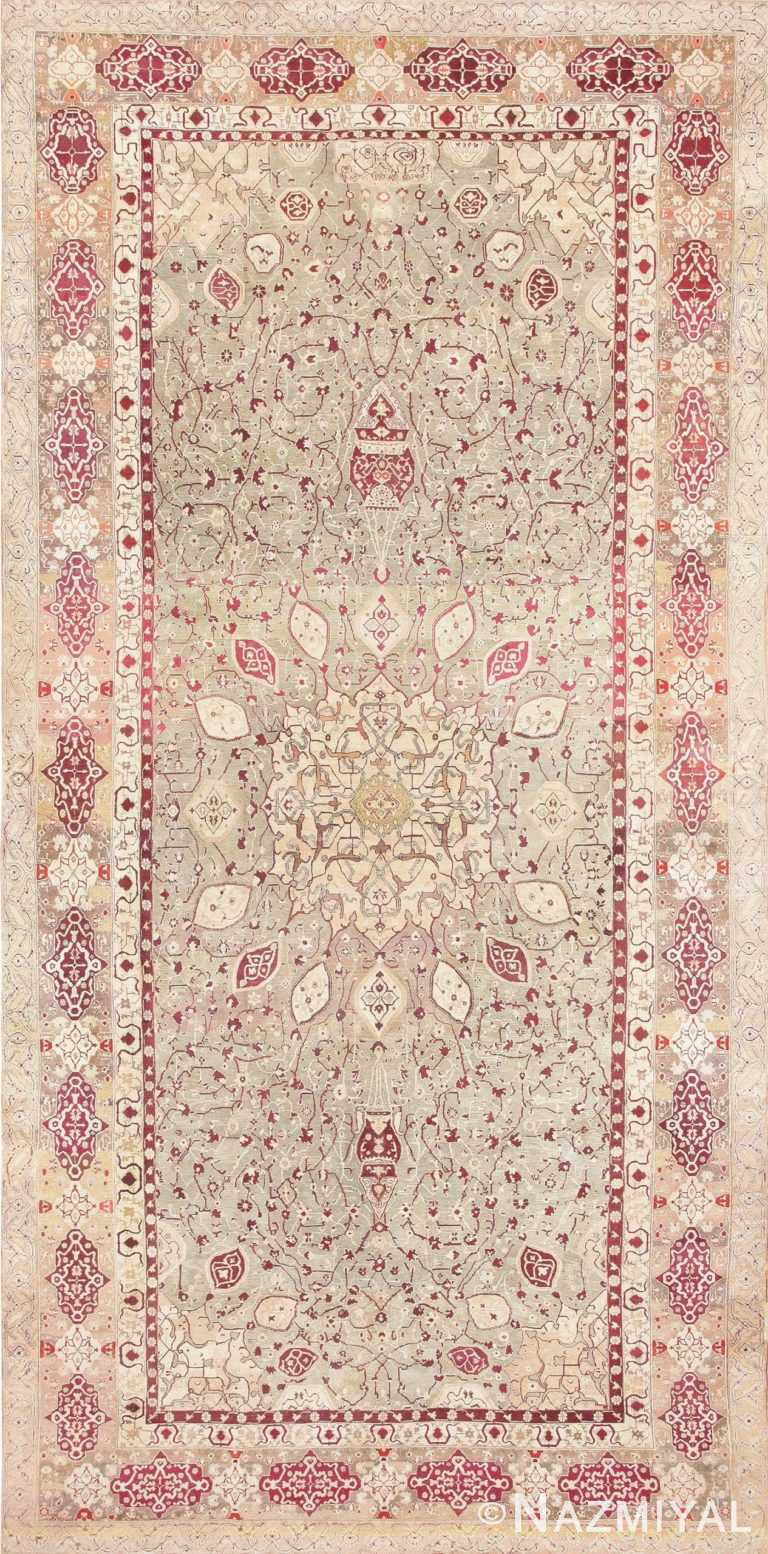 Antique Agra Carpet India 47434 Large Image
