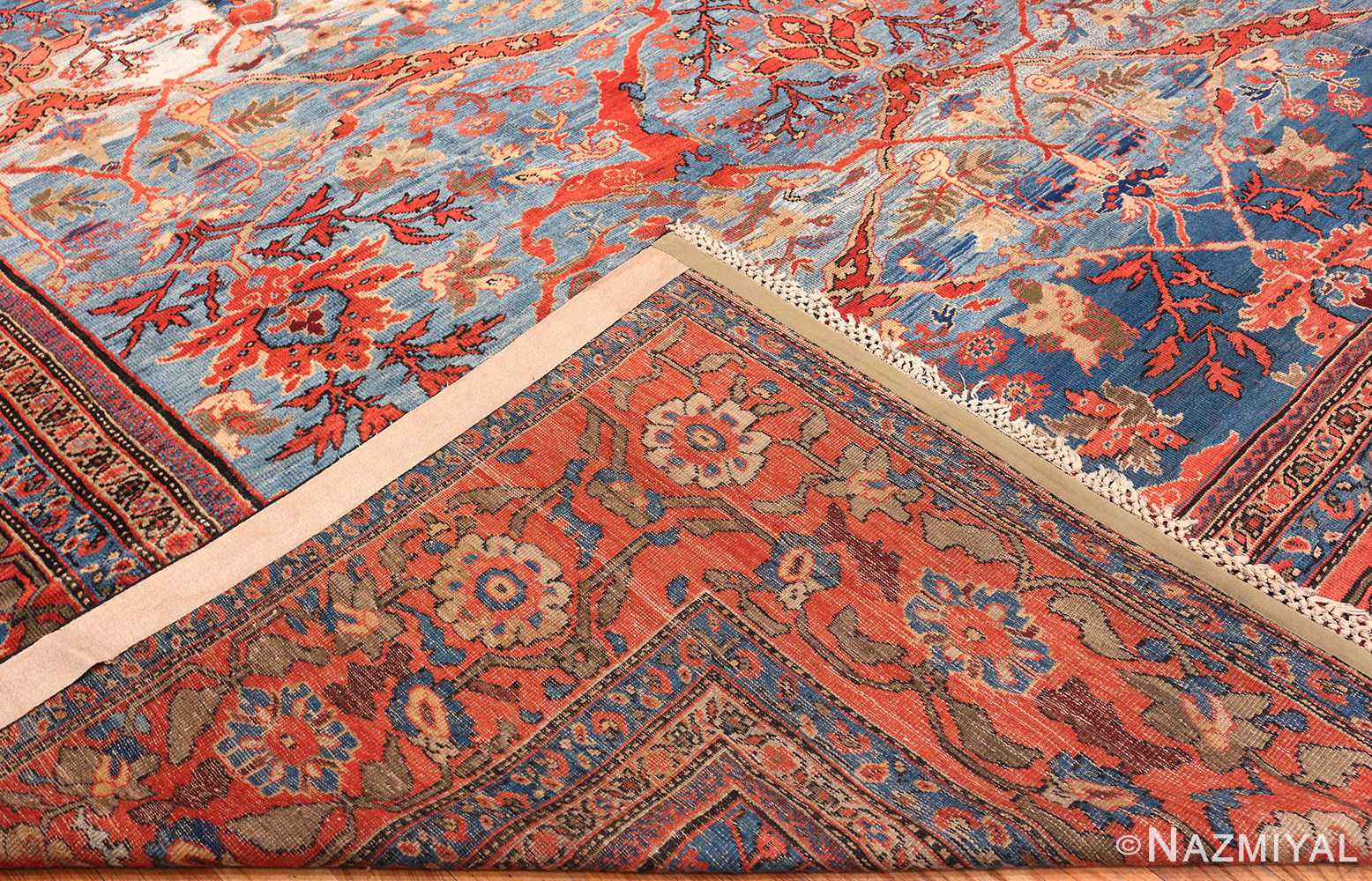 Antique Light Blue Persian Sultanabad Carpet 47270 By