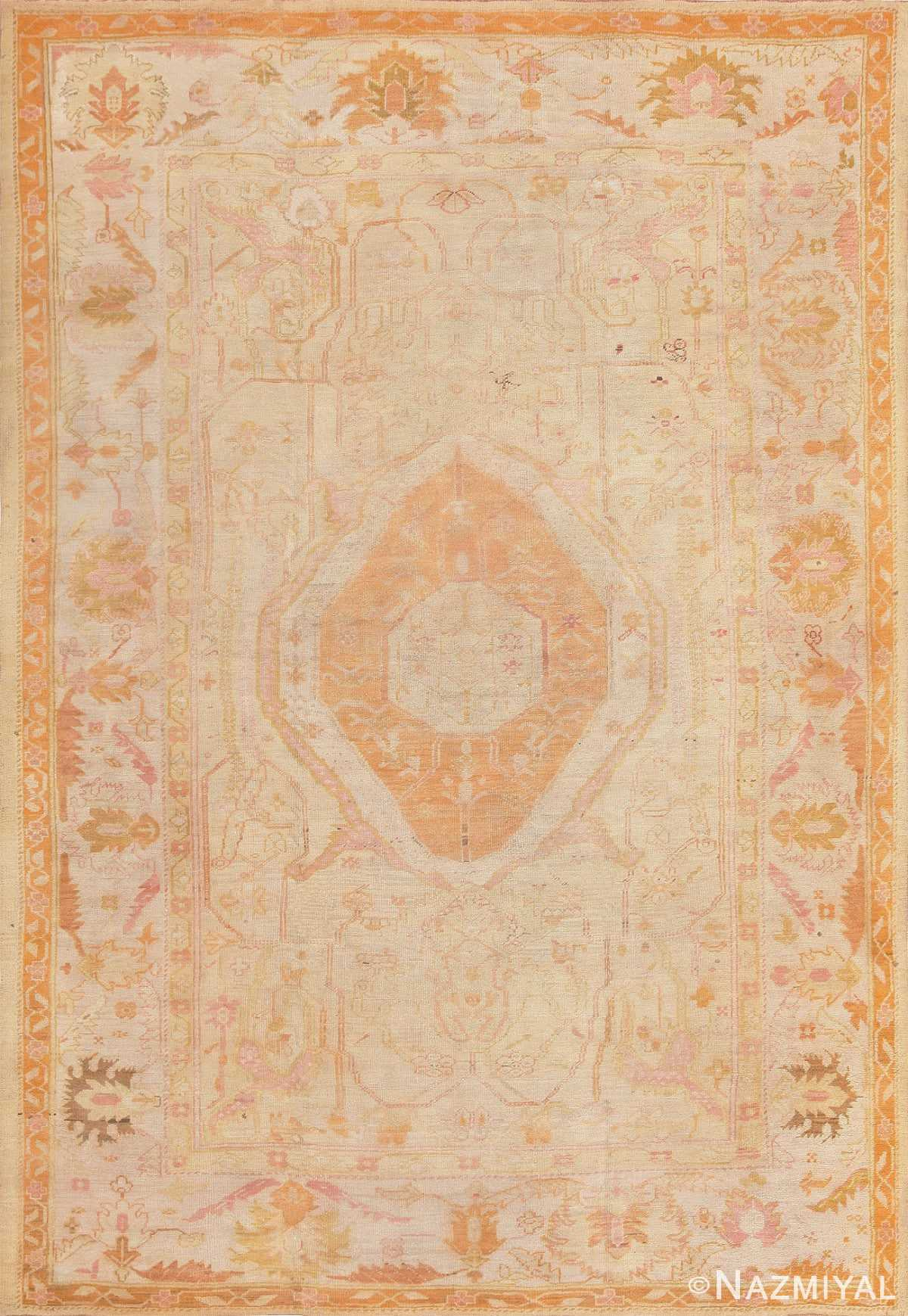 Antique Oushak Rug from Turkey 47441 Large Image