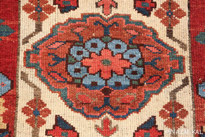 antique persian kurdish bidjar rug 47409 blue Nazmiyal