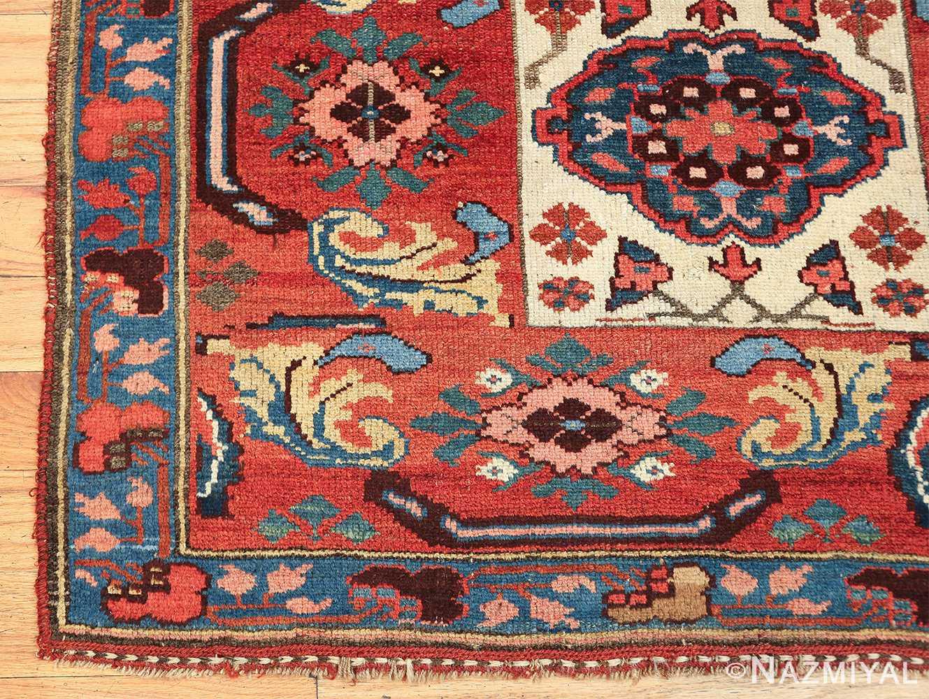 antique persian kurdish bidjar rug 47409 corner Nazmiyal
