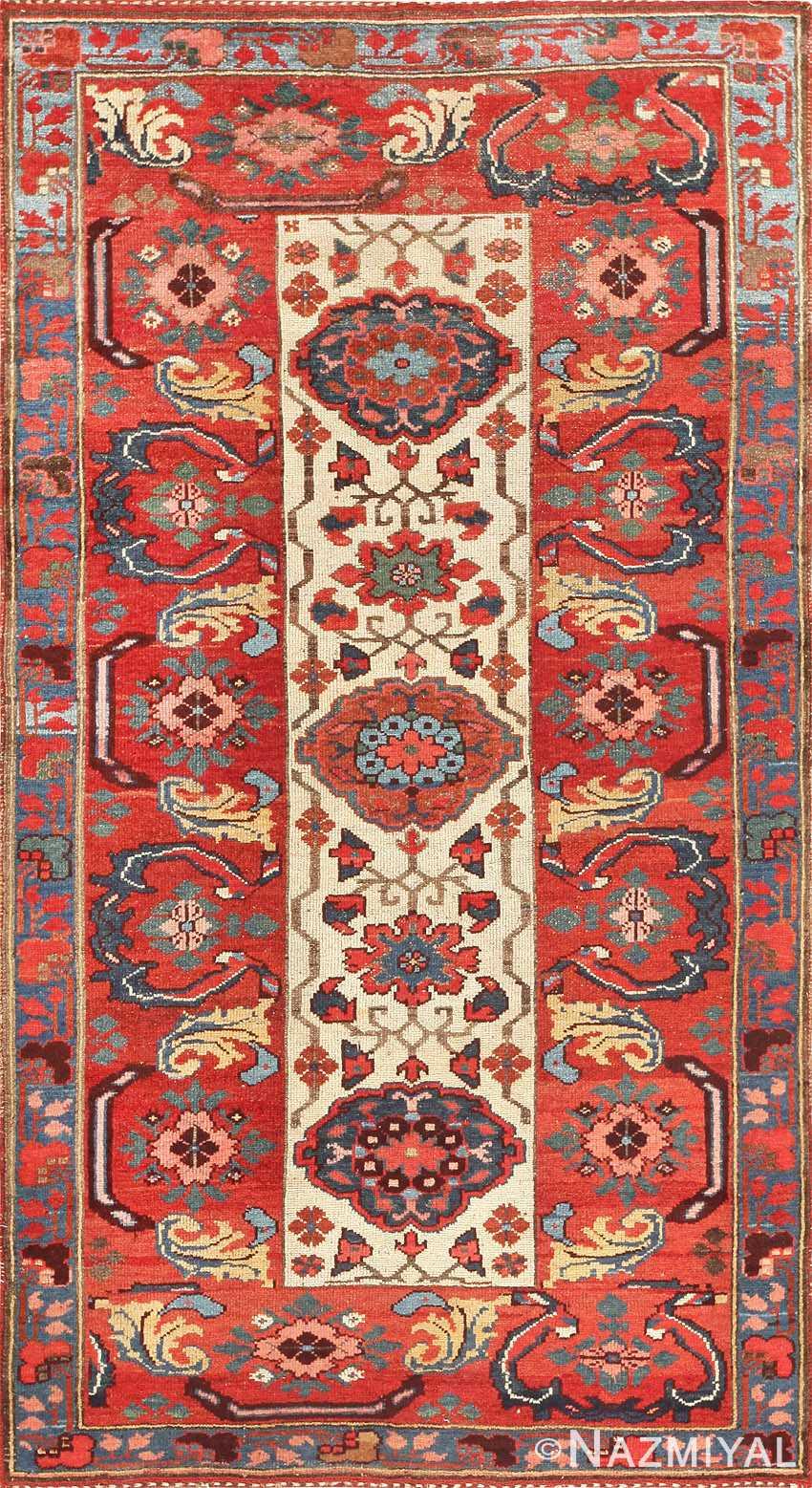 Antique Persian Kurdish Bidjar Rug 47409 Detail/Large View