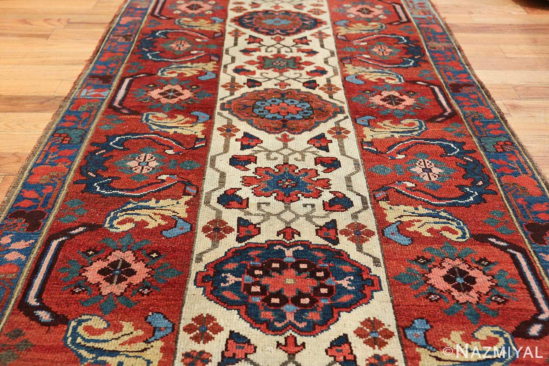 antique persian kurdish bidjar rug 47409 field Nazmiyal