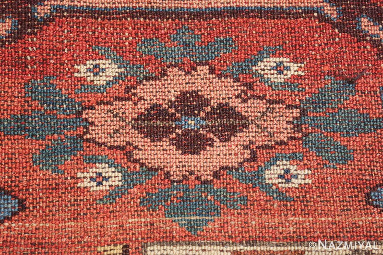 antique persian kurdish bidjar rug 47409 knots Nazmiyal