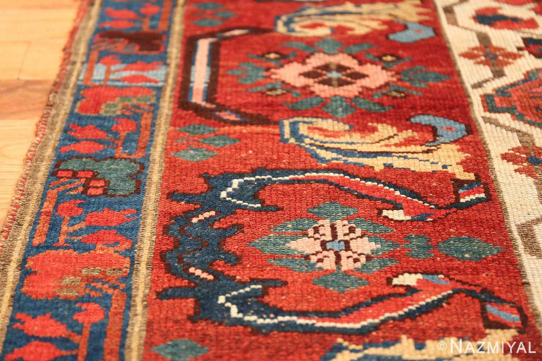 antique persian kurdish bidjar rug 47409 lines Nazmiyal