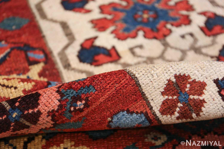 antique persian kurdish bidjar rug 47409 pile Nazmiyal