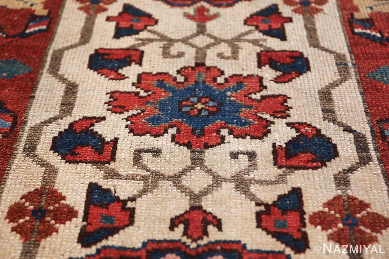 antique persian kurdish bidjar rug 47409 shape Nazmiyal
