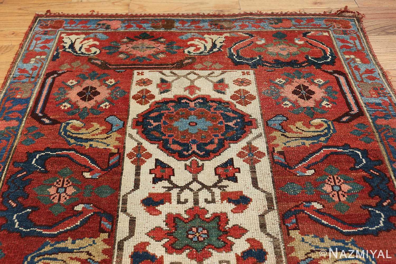 antique persian kurdish bidjar rug 47409 top Nazmiyal