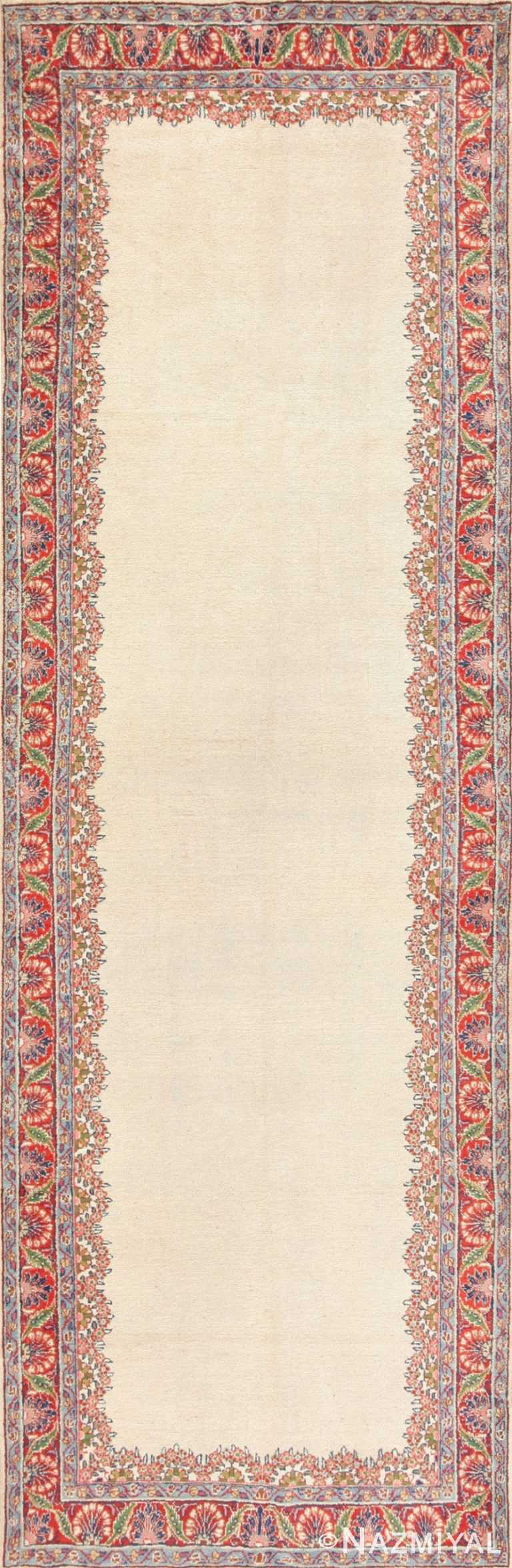 Antique Persian Mahal Carpet 47298 Detail/Large View