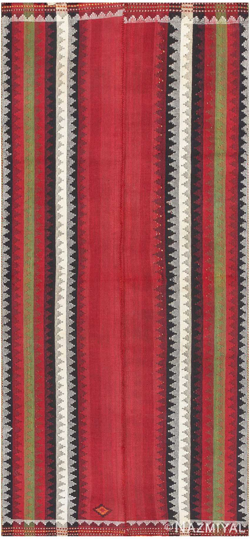 Antique Persian Mazandaran Kilim 47350 Detail/Large View