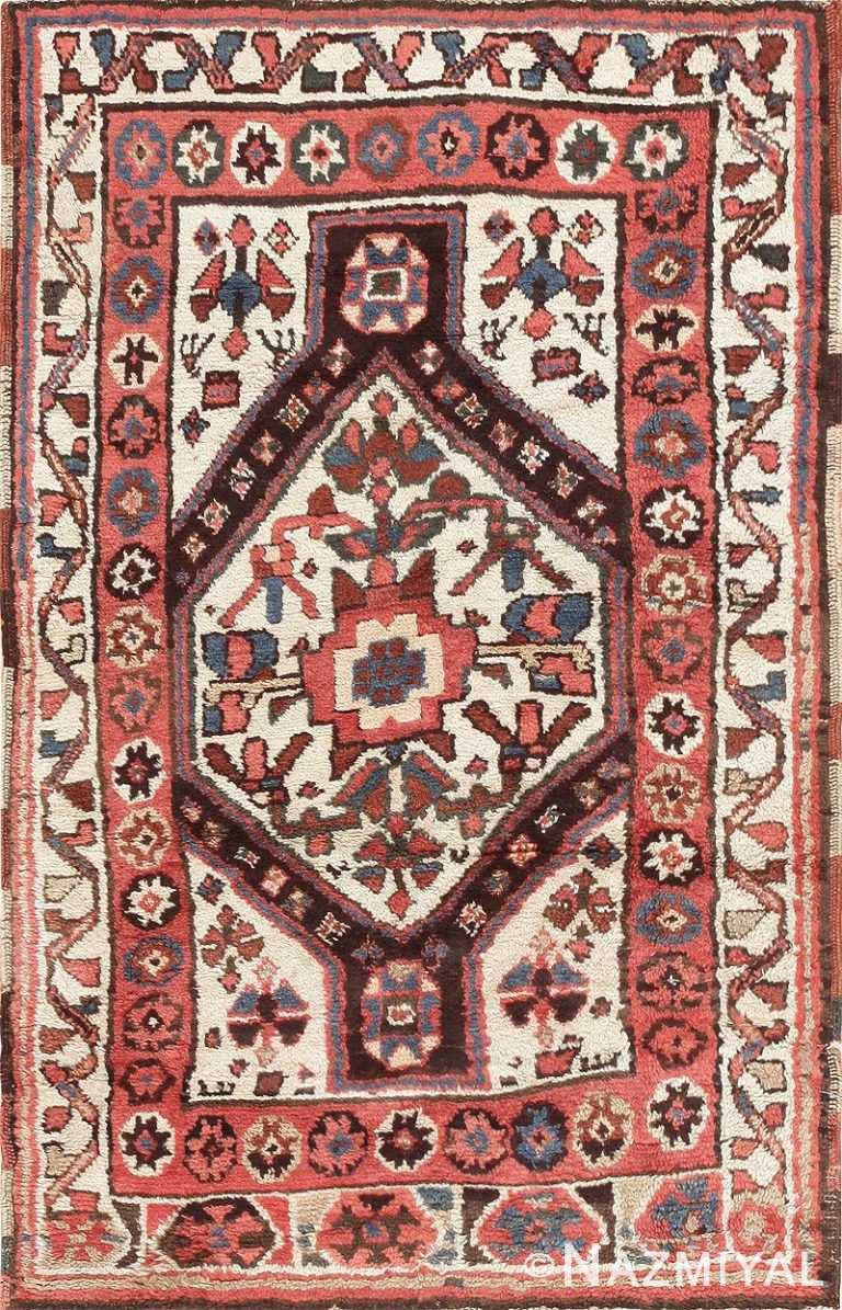 Antique Tribal Persian Kurdish Rug 47448 Detail/Large View