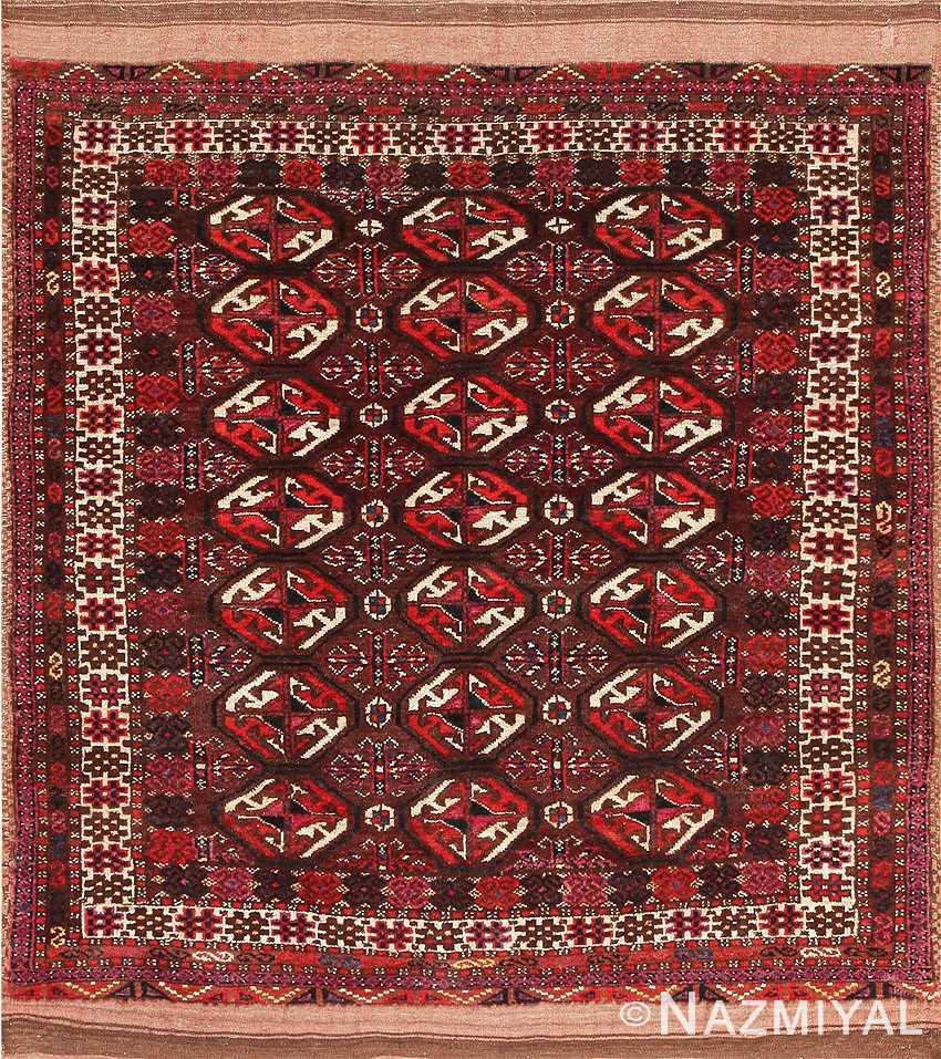 Antique Turkeman Carpet Uzbekistan 47376 Detail/Large View