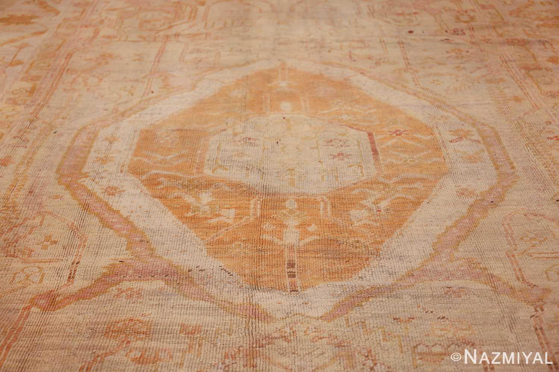 antique turkish oushak rug 47441 field Nazmiyal