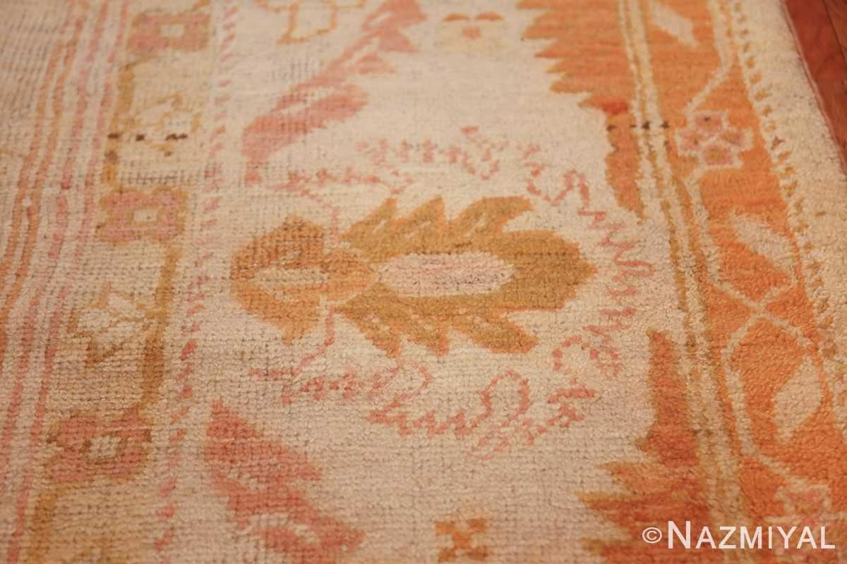 antique turkish oushak rug 47441 green Nazmiyal