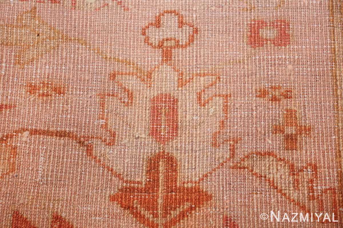 antique turkish oushak rug 47441 knots Namziyal