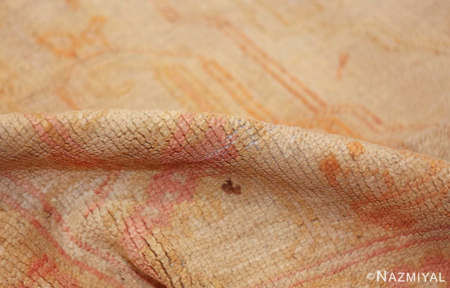antique turkish oushak rug 47441 pile Namziyal