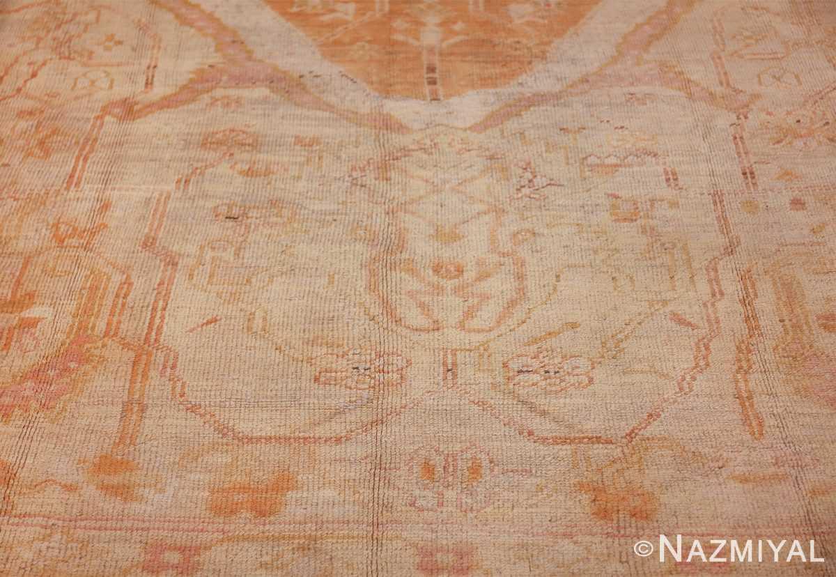 antique turkish oushak rug 47441 shape Nazmiyal