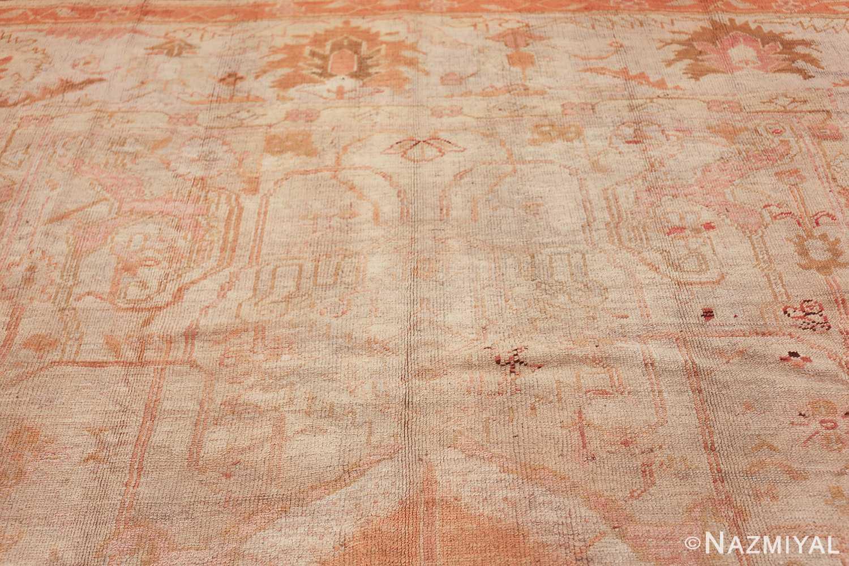 antique turkish oushak rug 47441 top Nazmiyal