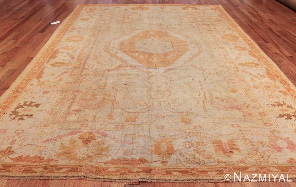 antique turkish oushak rug 47441 whole Nazmiyal