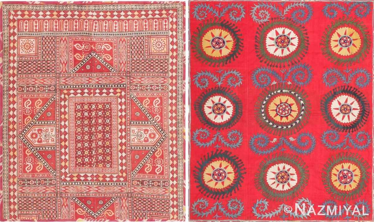 Antique Uzbek Embroidery 47395 Detail/Large View