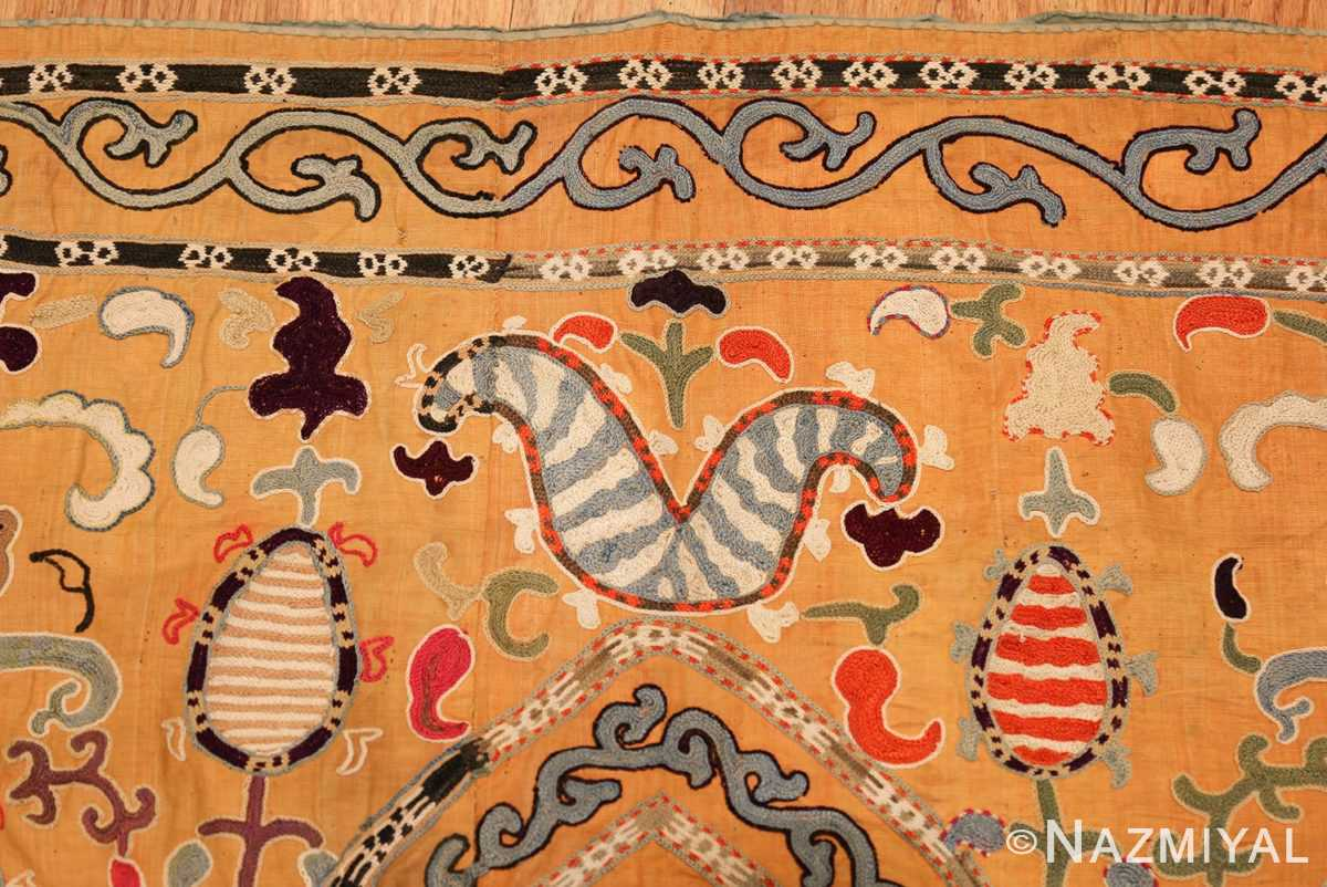 antique uzbek prayer embroidery textile 47392 design Nazmiyal