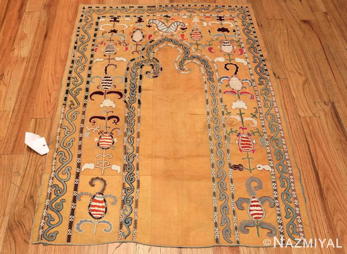 antique uzbek prayer embroidery textile 47392 whole Nazmiyal