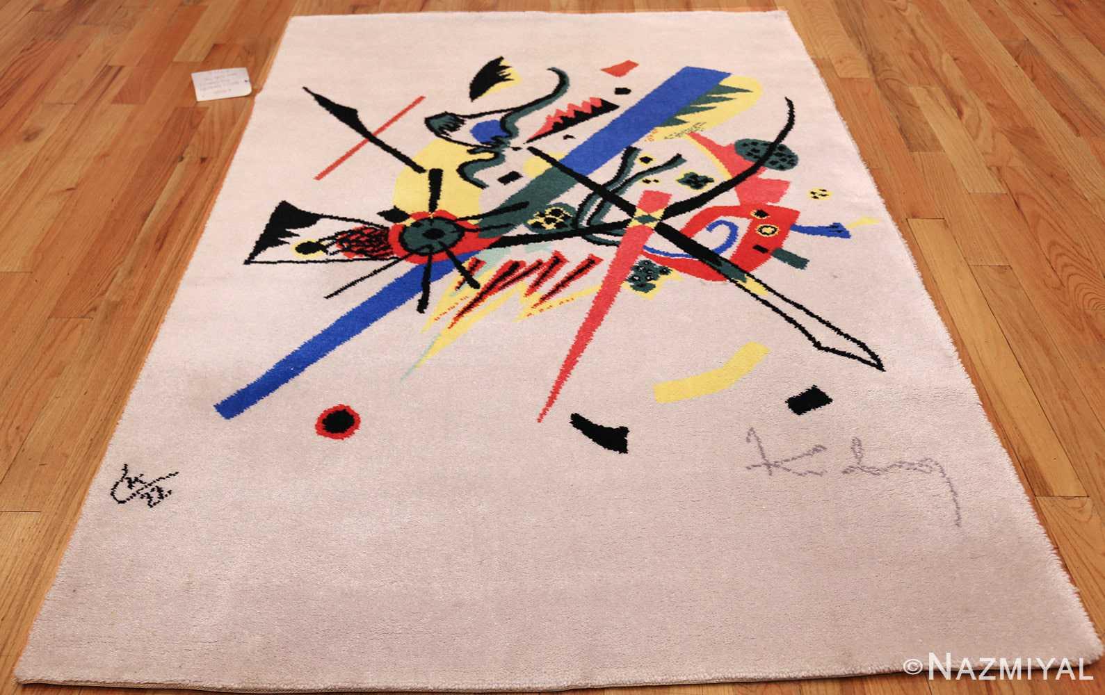 bauhaus rug inspired by kandinsky small worlds 47388 whole edited Nazmiyal