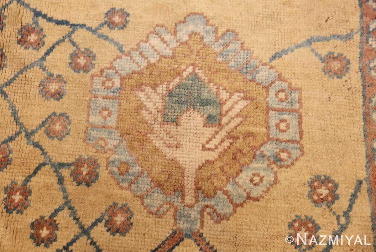 decorative vintage turkish oushak rug 47402 blue Nazmiyal
