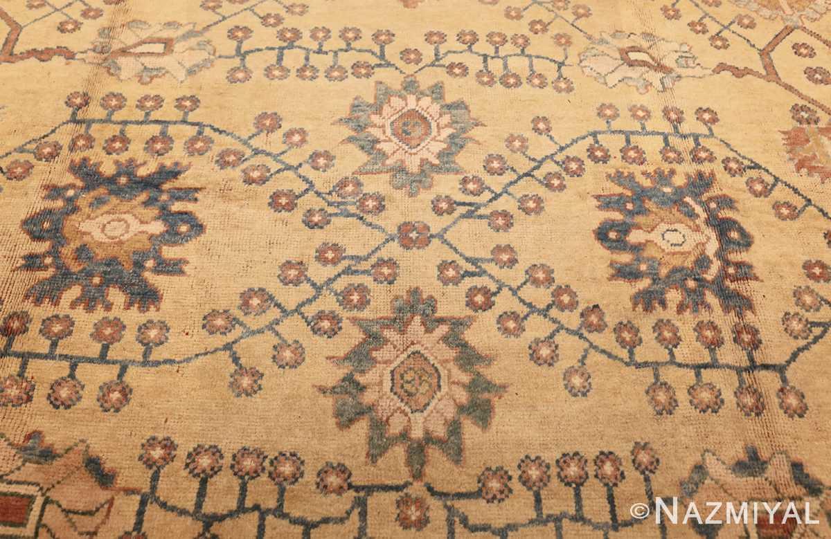 decorative vintage turkish oushak rug 47402 middle Nazmiyal