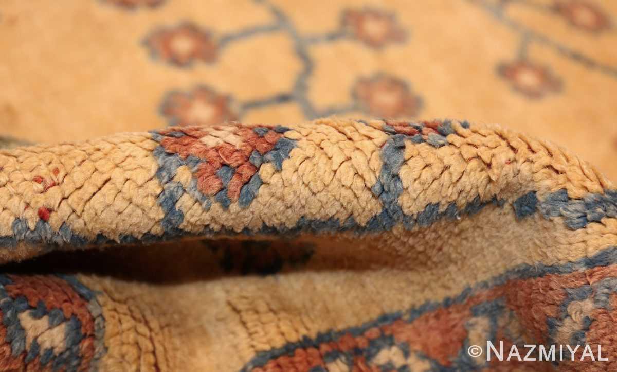 decorative vintage turkish oushak rug 47402 pile Nazmiyal