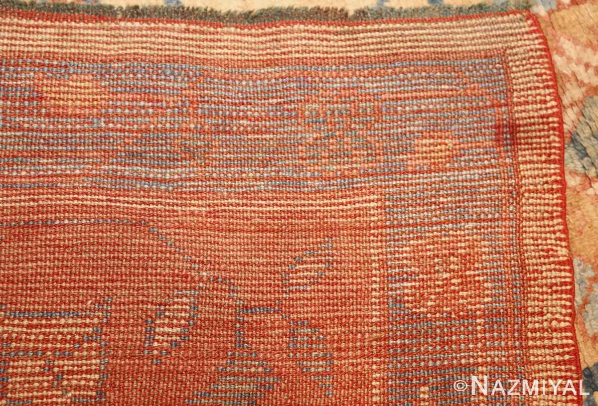 decorative vintage turkish oushak rug 47402 weave Nazmiyal
