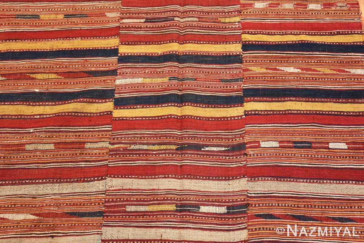 Field Antique Persian Mazandaran Kilim 47354 by Nazmiyal