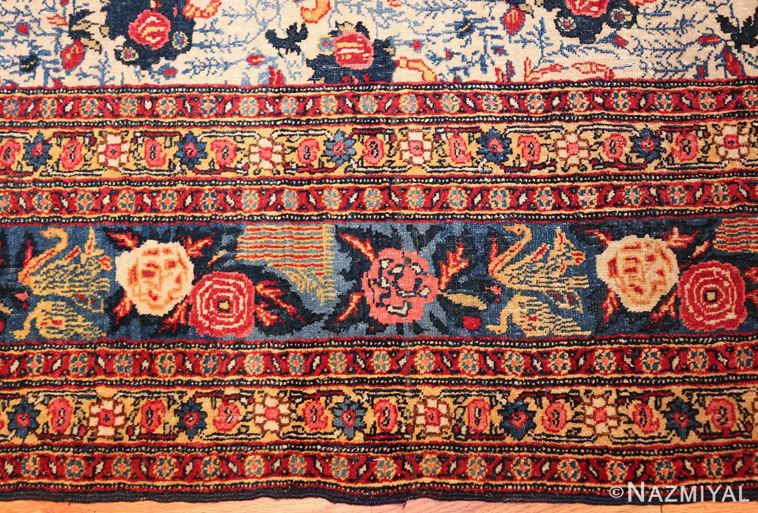 fine antique persian tabriz rug 47458 border Nazmiyal