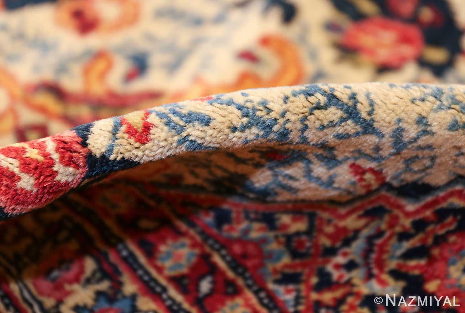 fine antique persian tabriz rug 47458 pile Nazmiyal