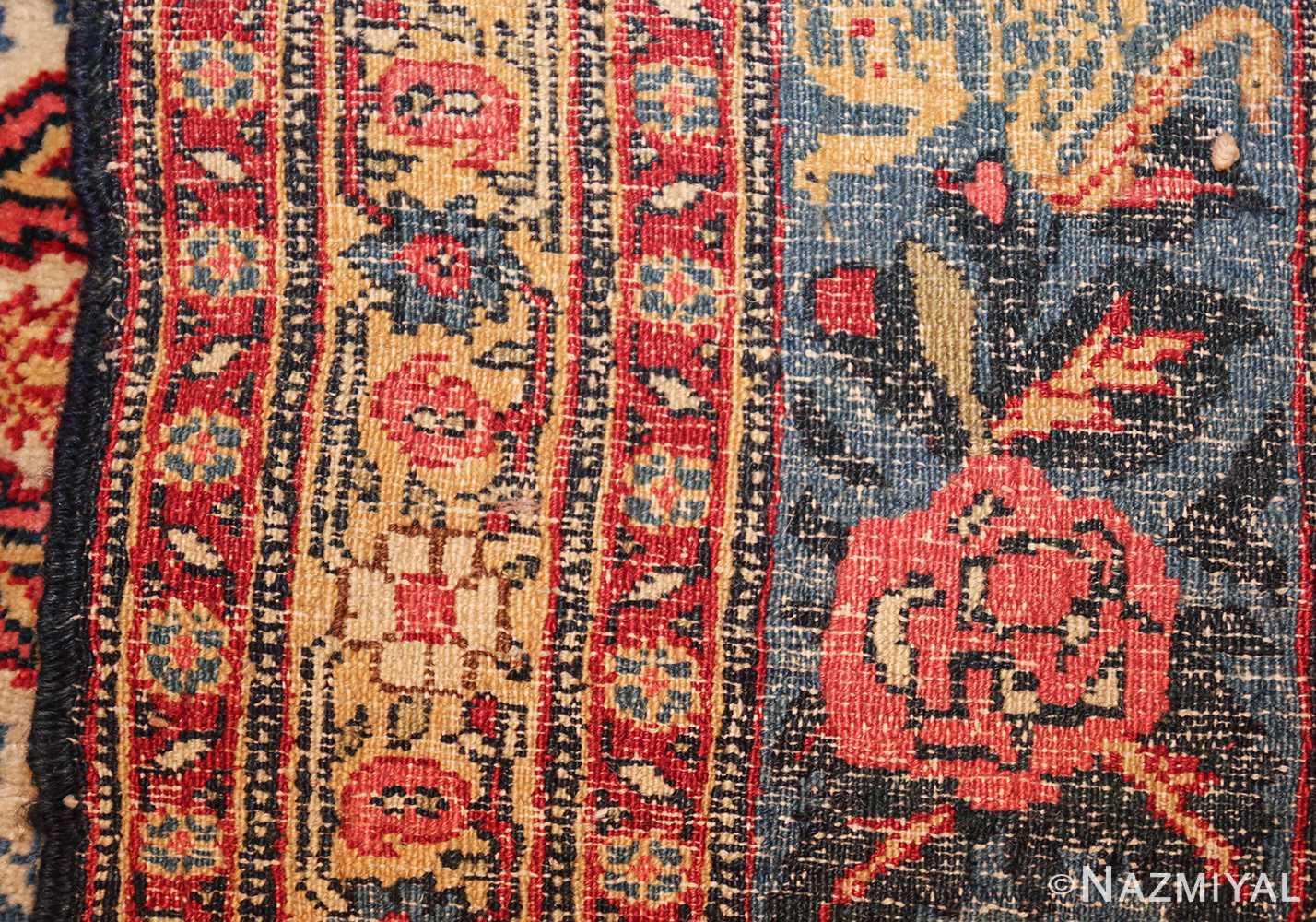fine antique persian tabriz rug 47458 weave Nazmiyal