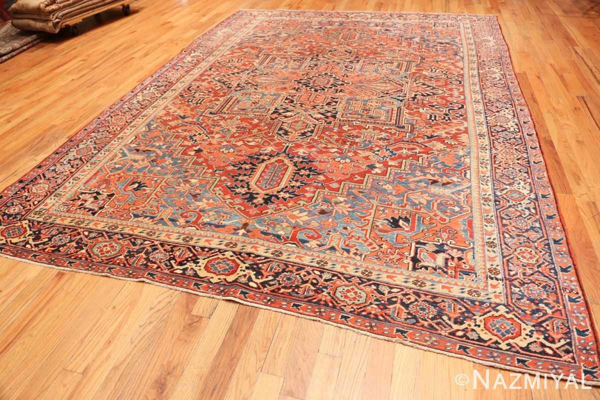 Full Antique Persian Heriz rug 47297 by Nazmiyal