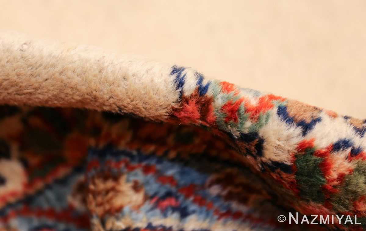 ivory gallery size vintage persian mahal carpet 47298 pile Nazmiyal