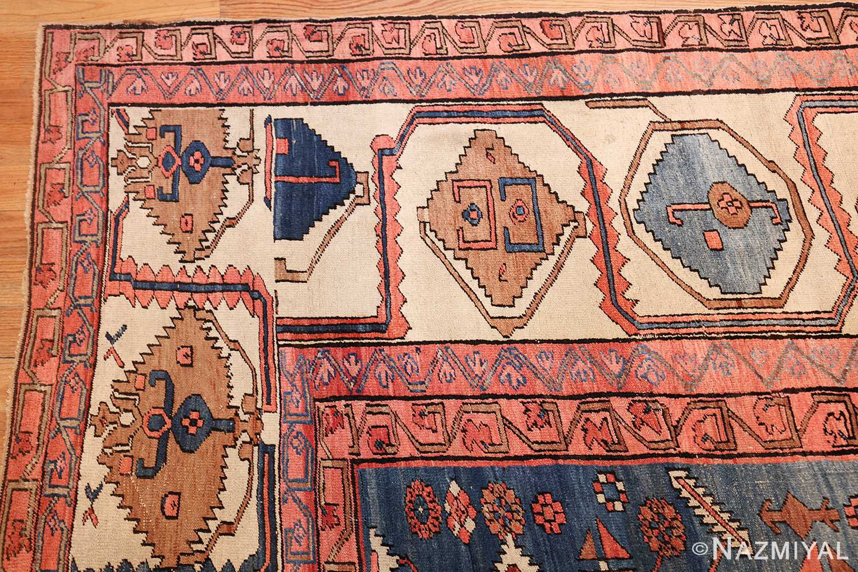 large geometric antique persian bakshaish carpet 47431 corner Nazmiyal