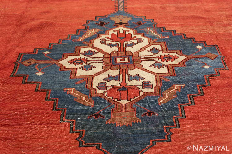 large geometric antique persian bakshaish carpet 47431 medallion Nazmiyal