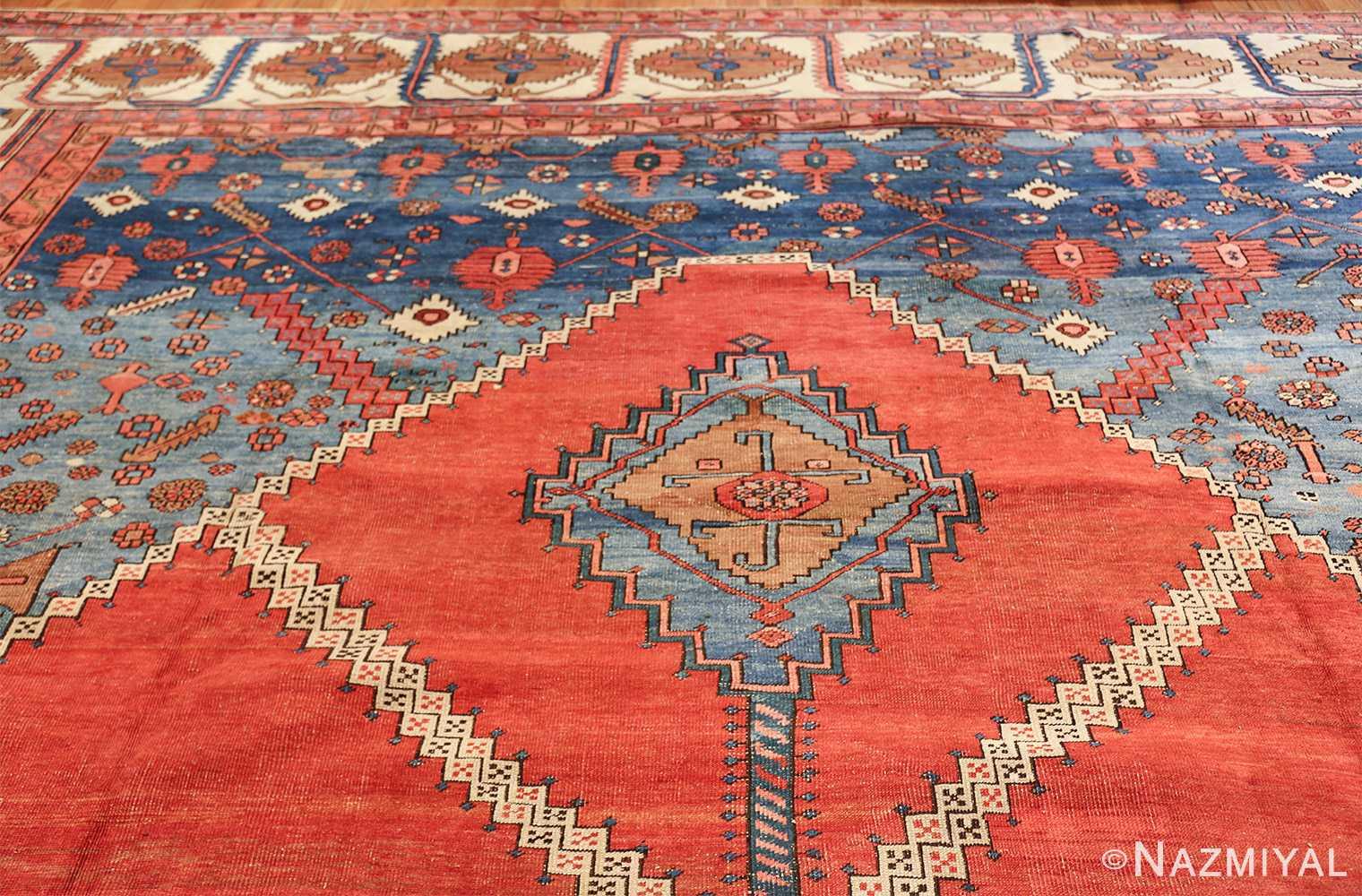 large geometric antique persian bakshaish carpet 47431 top Nazmiyal