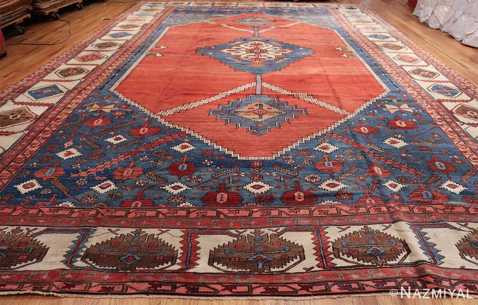 large geometric antique persian bakshaish carpet 47431 whole Nazmiyal