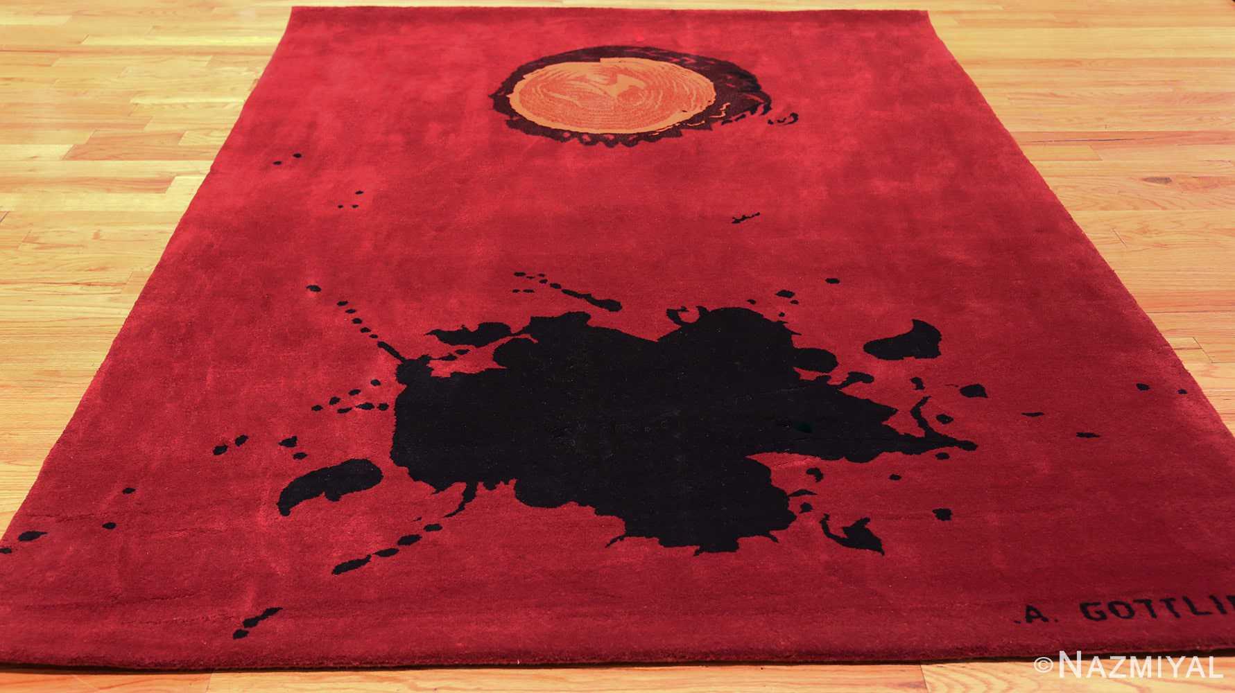 mid century modernist carpet by artist adolph gottlieb 47408 whole Nazmiyal