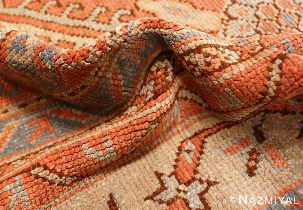 Pile Large Antique Turkish Oushak rug 47426 by Nazmiyal