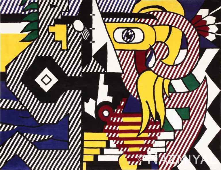 Pop Art Roy Lichtenstein Rug Art 47406 Large Image